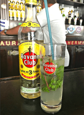 Mojitos were invented in Cuba and they're fairly inexpensive to drink down there. #mojitos #Cuba