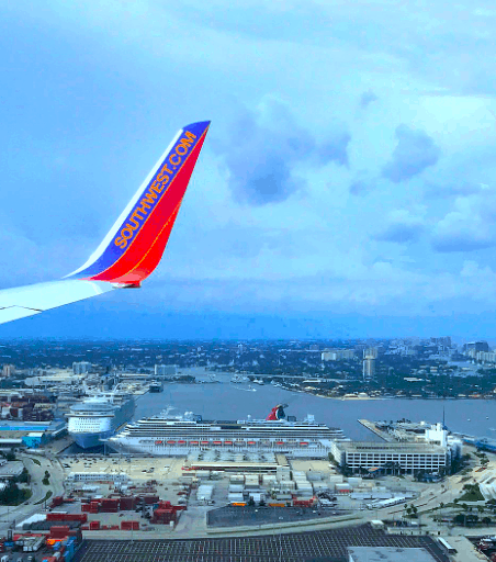 Southwest flight from Havana to Tampa