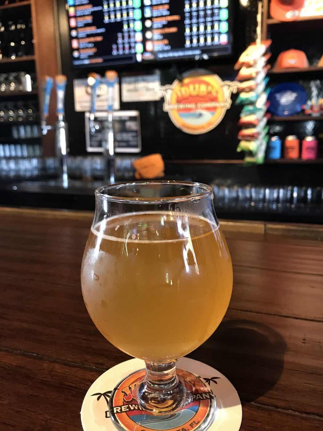 Beer at JDubs Sarasota, FL