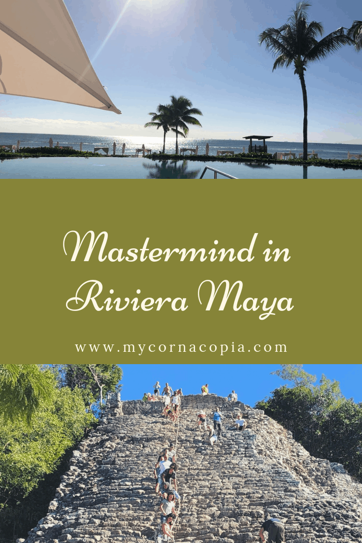 Preparing for a mastermind can be exciting and a little scary at the same time. #travel #mexico