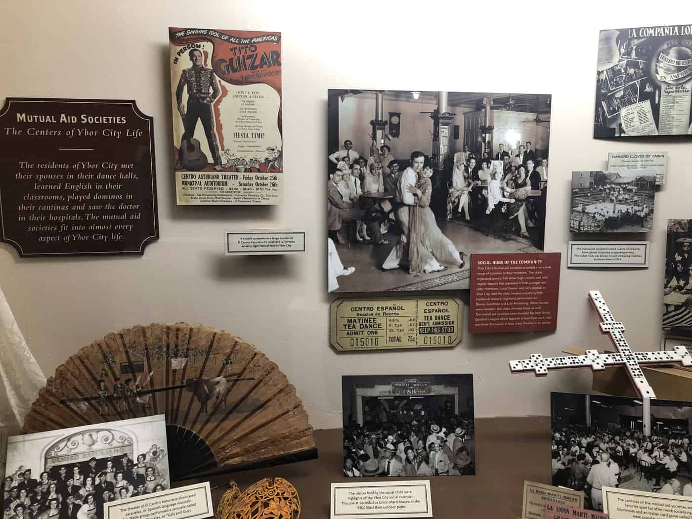 Items from Ybor City heyday