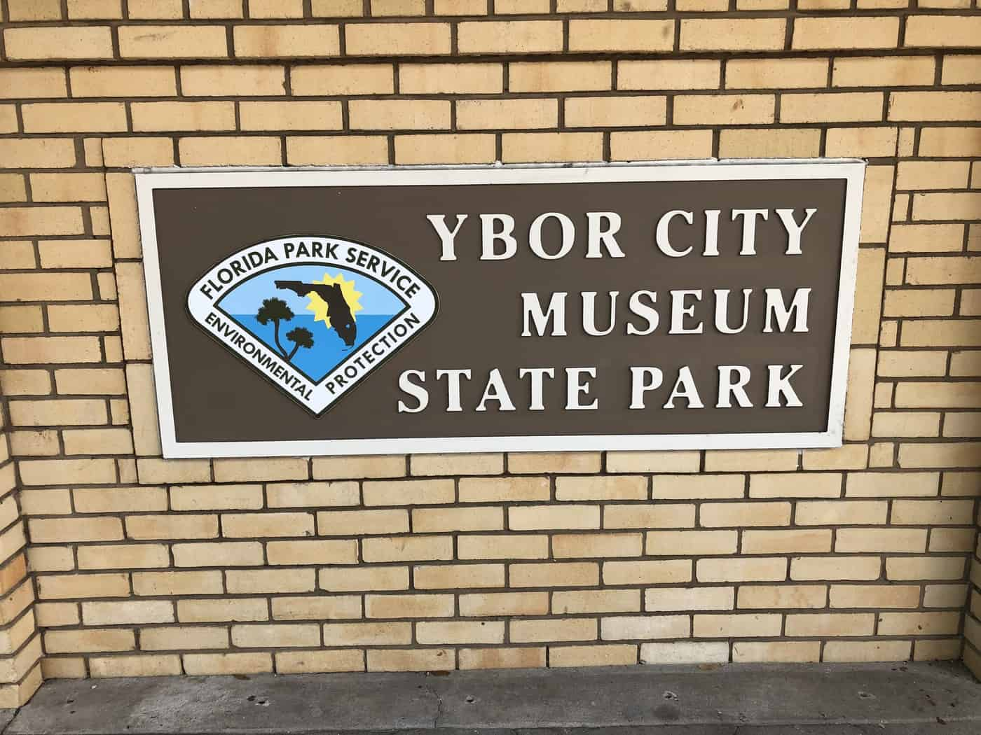 Signage for Ybor City Museum State Park
