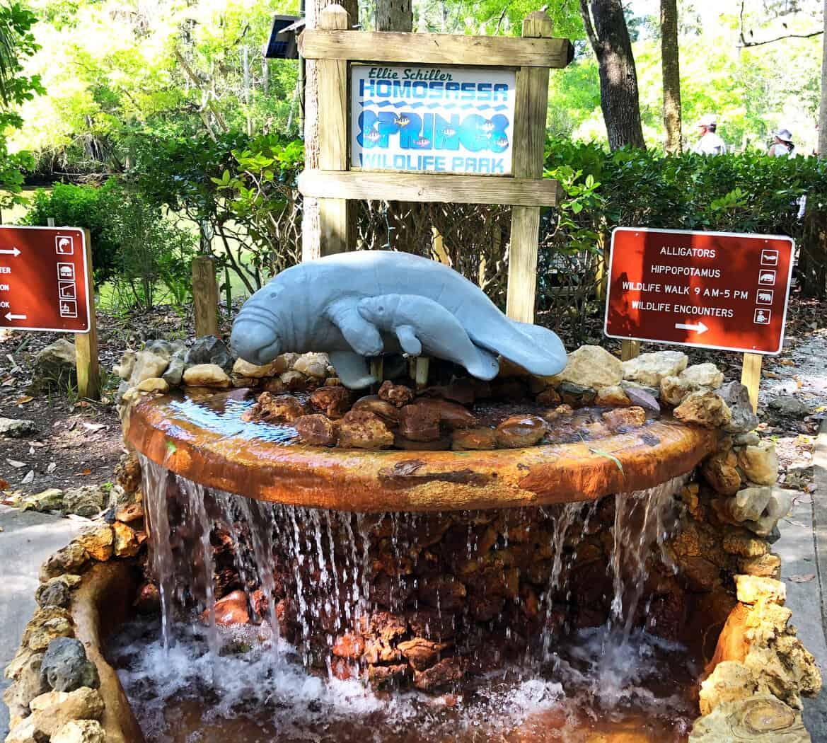 Fountain Homosassa Springs