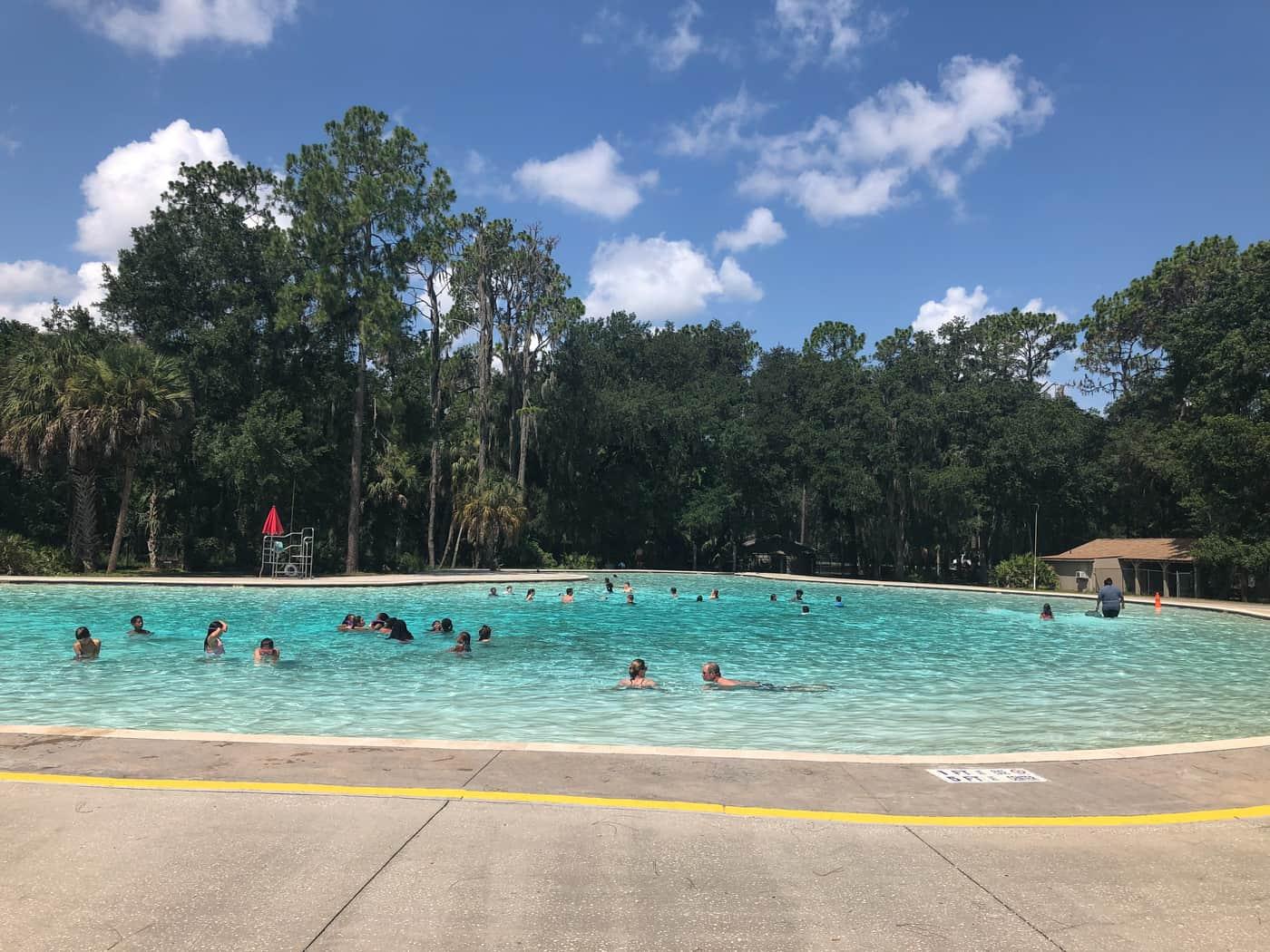Pool at Hillsborough River State Park