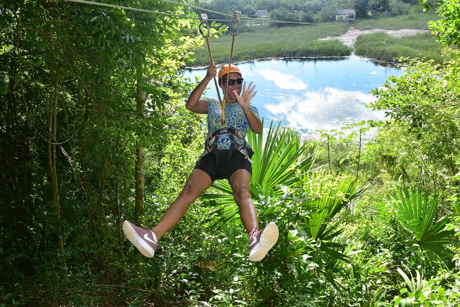 Zip line in Mexico - My Cornacopia