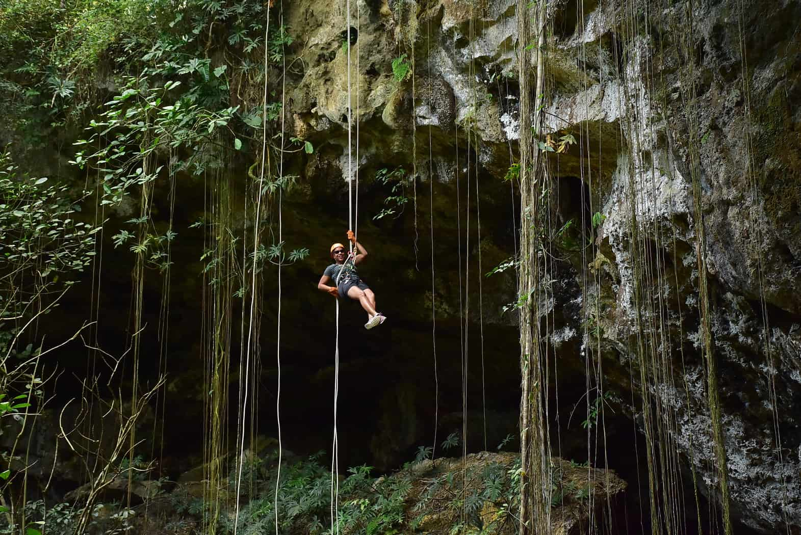 My Cornacopia rappelling with Alltournative