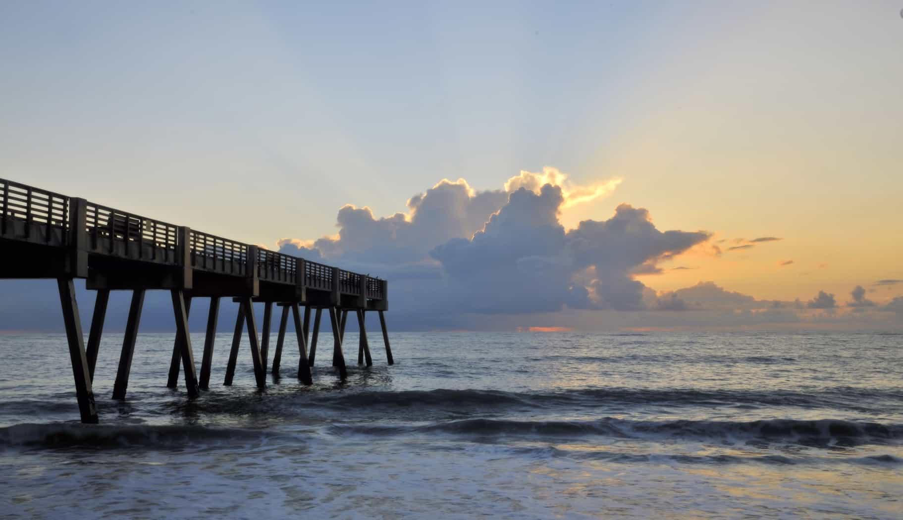 Pier on Vero Beach, FL