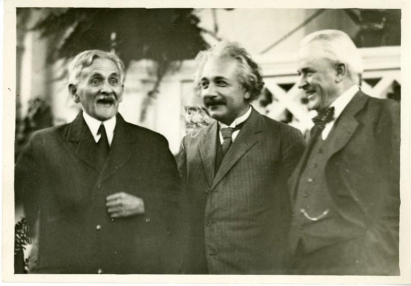Albert Einstein photo - Smithsonian Archives