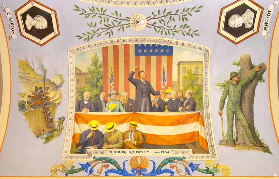 Theodore Roosevelt Mural_Architect of the Capitol